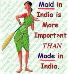 Funny Images, Funny Pictures, Desi Humor, Jokes In Hindi, Funny Bunnies, Indian Paintings, Twisted Humor, Cartoon Wallpaper, Maid