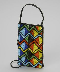 Another great find on #zulily! Blue & Yellow Free Spirit Beaded Wristlet by Bamboo Trading Company #zulilyfinds