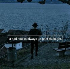 Perhaps, but sometimes sad souls can't make it that far. Sometimes, sad souls need to feel dead for a while
