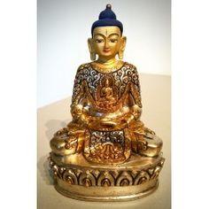 Amithaba, verzilverd en goldface
