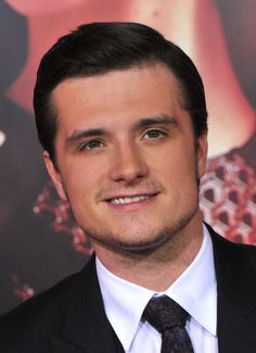 Josh Hutcherson at the LA premiere of 'Catching Fire.' Grooming by Kim Verbeck.