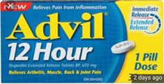 FREE Advil 12 Hour Relief 16's Live Happy, Back Pain, Drugs, Muscle, Household, Coupon, Canada, Free, Projects To Try
