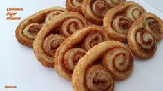These cinnamon sugar Palmiers are a great treat to bring to potluck or make for dessert to end a dinner party. They're easy to make, they can be ready in less than half an hour, and boy are they delicious.