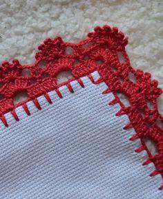 Crochet Boarders, Crochet Edging Patterns, Sewing Patterns, Creative Embroidery, Folk Embroidery, Filet Crochet, Crochet Lace, Christmas Tree Pattern, Crochet Decoration