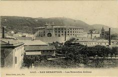 San Sebastián : les nouvelles arènes, 19--?