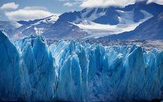 Upsala Glacier in Glacier National Park - Santa Cruz, Argentina