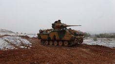 Turkish FNSS Akınıcı acv zma 50 mm Sharpshooter turret apc