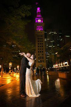 Denver Clocktower Wedding | Tiffany and Alex | Elegant