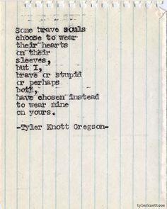 Typewriter Series #361by Tyler Knott Gregson