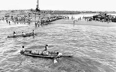 Royapuram fishing harbour, dated August 10, 1987.