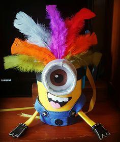 Tambor Minion  Manualidades Carnaval