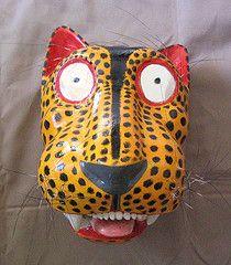 Mayan Jaguar Mask | Jaguar mask