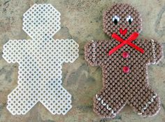 Hey, I found this really awesome Etsy listing at https://www.etsy.com/listing/208762450/plastic-canvas-gingerbread-man-wiith-cut