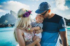 Family Pictures in Bora Bora - Barefoot Blonde by Amber Fillerup Clark