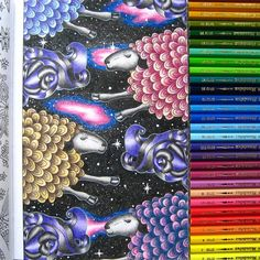 Claire Cater - The can't sleep colouring book - by anastasia_aleksandrovn