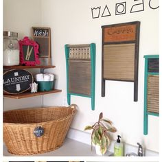 laundry room makeover a renter friendly cabinet makeover, chalkboard paint, kitchen cabinets, laundry rooms, wall decor Laundry Decor, Laundry Room Organization, Laundry Room Design, Laundry In Bathroom, Laundry Rooms, Basement Laundry, Laundry Signs, Laundry Area, Small Laundry