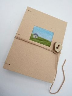 Icelandic house  small journal by immaginacija on Etsy