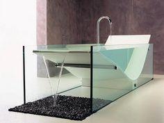 Infinity pool meets tub