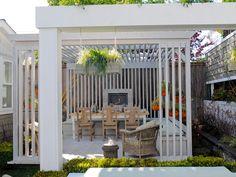 Design Tips for Beautiful Pergolas | Outdoor Spaces - Patio Ideas, Decks & Gardens | HGTV