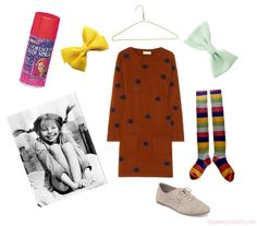 How to Put Together a Pippi Longstocking Costume #Halloween