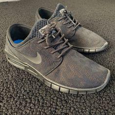 half off 72419 28416 Nike Shoes   Nike Sb Janoski Air Max Premium Prm 807497 004   Color  Black Blue    Size  9.5