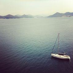 통영의 어느 바다.