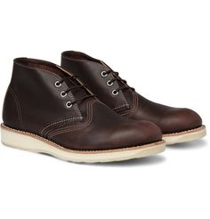 Red Wing Shoes - Chukka Rubber-Soled Leather Boots|MR PORTER