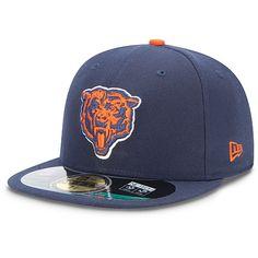 New Era Chicago Bears On Field Cap Navy Basic Fitted Basecap Kappe Men New York Jets, Chicago Bears, Caps Game, Cubs Merchandise, Nfl, New Era Logo, Hat Storage, Hat Display, New Era Hats