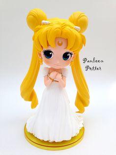 https://flic.kr/p/DSZ6e2 | Princess Serenity QPosket statuette by Banpresto