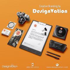 Stationary design for Warm. Get Your Stationary done today. Visit us: www.designvation.com #Stationary #Letterhead #marketing #design #Branding #DesignVation