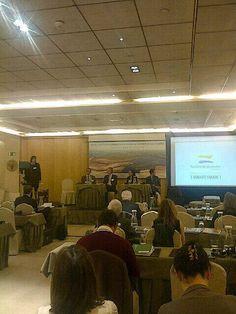 """Intervención de Agrotravel Turismo Responsable en la Conferencia """"Patrimonio Natural de la Humanidad-Turismo Sostenible"""" que organizo la Oficina Nacional Alemana de Turismo, en colaboración con la Embajada de la República Federal de Alemania en España."""
