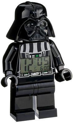 Darth vader mini figure clock