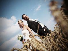 Kreative Hochzeitsfotos - Mehr auf www.cf-fotodesign.de