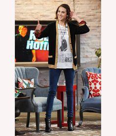 59ea206e1b31 Topshop Pippa Blue Acid Skinny Jeans photo tag Street Outfit