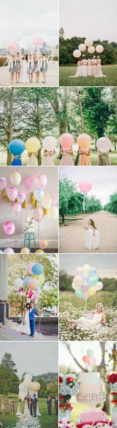 Affordable & Adorble – 36 Balloon Decor Ideas