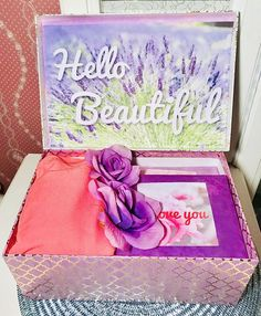 Excited to share the latest addition to YouAreBeautifulBox LLC: Hello Beautiful YouAreBeautifulBox. Care Package for Her. Gift for Her. Best Friend Gifts, Gifts For Friends, Best Gifts, Romantic Candles, Romantic Gifts, Romantic Ideas, Anniversary Care Package, Hello Kitty, Diy Gifts For Girlfriend
