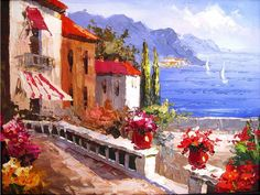 Original oil paintings have a number of advantages over mass produced prints. Oil paintings are original hand painted works of art by the artist. Mass produced prints are stored as a digital image and are then printed on specialized printers.