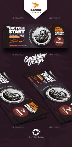 Bicycle Racing Cover Templates