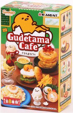 Gudetama Cafe egg restaurant food Re-Ment miniature blind box 3