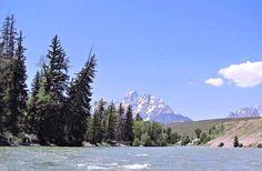 川の晴れた日 河川 自然 高解像度で壁紙