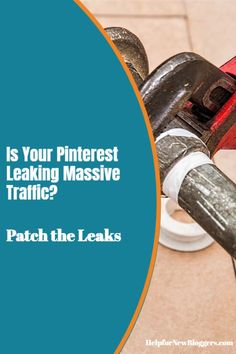 """Many Pinterest marketers build Pinterest accounts that are a bit like sinking ships. The result can sometimes be the loss of MASSIVE free traffic. This post will teach you how to patch five potential """"leaks"""" and get more traffic for your site because leaking massive traffic can hit you square in the wallet. Pinterest Account, Accounting, Business Accounting, Beekeeping"""