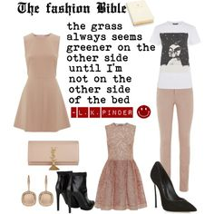"""The Fashion Bible by L. K. Pinder"" by lkpinder on Polyvore"