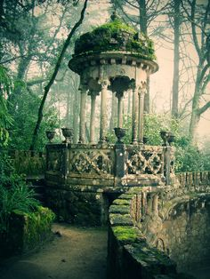 Quinta da Regaleira , Sintra It's always been my dream to travel here someday..