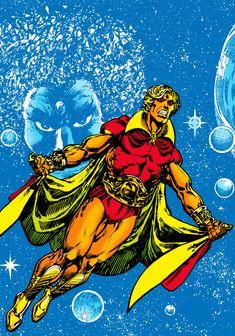marvelmasterworks: Warlock, art by Jim Starlin. Marvel Heroes, Captain Marvel, Adam Warlock Marvel, Spiderman, Batman, Cultura Nerd, Marvel Masterworks, Fantasy Comics, Marvel Comic Character