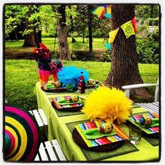Decoração - Festa Mexicana