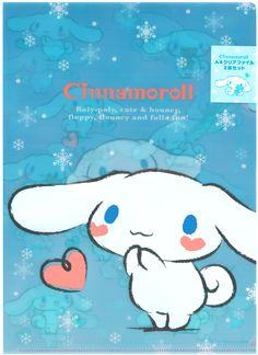 Sanrio Cinnamoroll Snowflakes File Folder Set