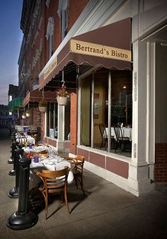 Award-winning wine selection, delicious French fare, and warm bistro atmosphere at Bertrand's Bistro in Erie, PA