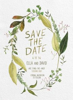 Photo: Alissa Saylor Photography via Green Wedding Shoes; Perfect Save the Date Wedding Ideas We Love