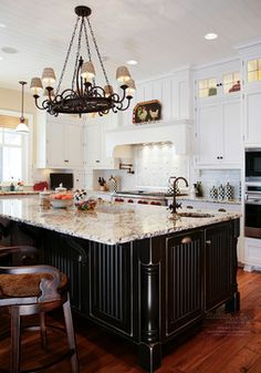 Traditional Lake Kitchen - traditional - kitchen - - by Martin Bros. Contracting, Inc., Goshen, Indiana