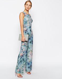 ASOS | ASOS Delicate Floral Printed Jumpsuit at ASOS